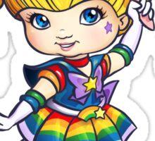Rainbow Moon Sticker