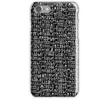 Middle Decals iPhone Case/Skin