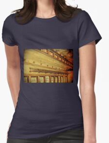 Vintage Railroad 6 Womens Fitted T-Shirt