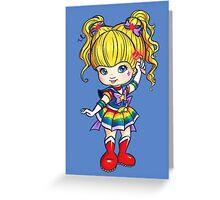 Rainbow Moon Greeting Card