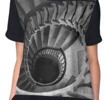 Spiral Staircase Chiffon Top