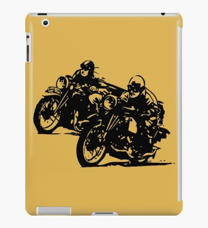 BUILT FOR SPEED-BOARD TRACK RACING iPad Case/Skin