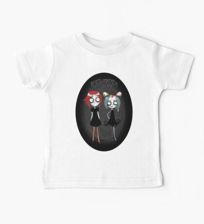 Best of friends Ruby & Creepie Baby Tee