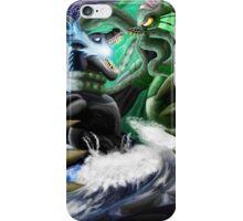 Godzilla Vs. Cthulhu iPhone Case/Skin