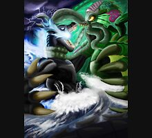 Godzilla Vs. Cthulhu Unisex T-Shirt