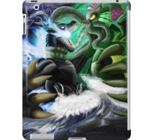 Godzilla Vs. Cthulhu iPad Case/Skin