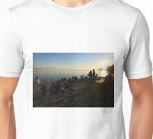 November Sunset in Friedrichshafen - Lake Constance Unisex T-Shirt