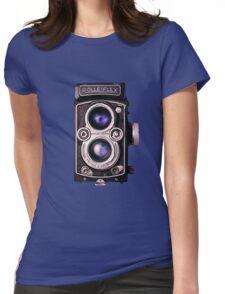 Rolleiflex HD Womens Fitted T-Shirt