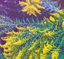 Plenty of Yellow: Golden Flowers Sticker