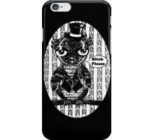 I'm an owl, I do what I want iPhone Case/Skin