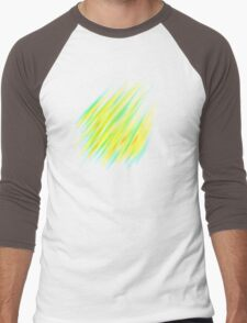 Colorful brush strokes Men's Baseball ¾ T-Shirt