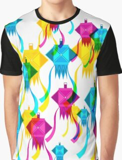 Diwali Lanterns Graphic T-Shirt