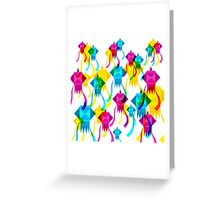 Diwali Lanterns Greeting Card