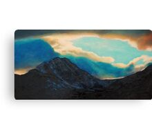 Snowdon view Canvas Print