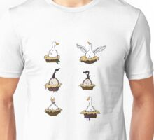 Six Geese-a-Laying Unisex T-Shirt
