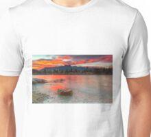 Scarlet Sunrise - Queenstown New Zealand Unisex T-Shirt