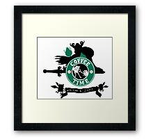 Starbucks Adventure Time Framed Print