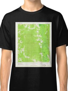 USGS TOPO Map Alabama AL Brownville 303360 1967 24000 Classic T-Shirt