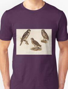 Bilder atlas zur Wissenschaftlich populären Naturgeschichte der Vögel in ihren sämmtlichen Hauptformen Leopold Joseph Fitzinger 1864 021 T-Shirt