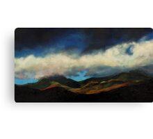 Snowdon Canvas Print