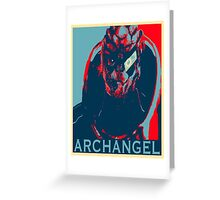 Codename Archangel Greeting Card