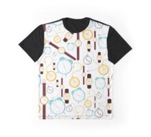 Clocks Graphic T-Shirt