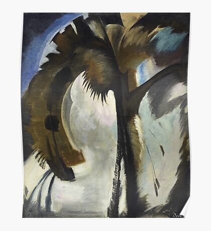 Vintage famous art - Arthur Garfield Dove - Yellow Blue And Violet Poster