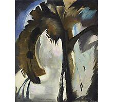 Vintage famous art - Arthur Garfield Dove - Yellow Blue And Violet Photographic Print