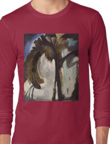 Vintage famous art - Arthur Garfield Dove - Yellow Blue And Violet Long Sleeve T-Shirt