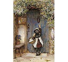 Vintage famous art - Arthur Hopkins - The Visitor  Photographic Print