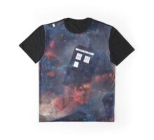 Disappearing Police Box Graphic T-Shirt