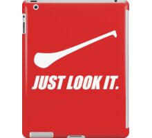 Hurling: Just Look It. iPad Case/Skin