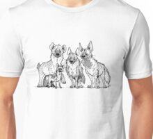 Hyenas - Light Unisex T-Shirt