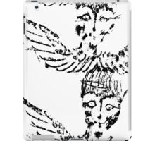Black and White Abstract Art Duvet Cover iPad Case/Skin