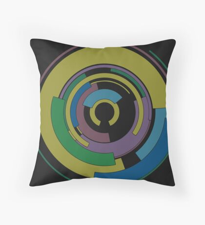 Co-Workers Throw Pillow