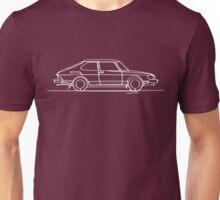 SAAB 900 - Single Line Unisex T-Shirt