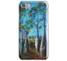 Flag Springs Bottle Trees iPhone Case/Skin