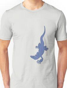Nile Monitor (blue) Unisex T-Shirt