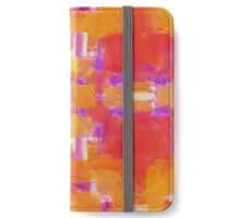 Paint Repeat iPhone Wallet