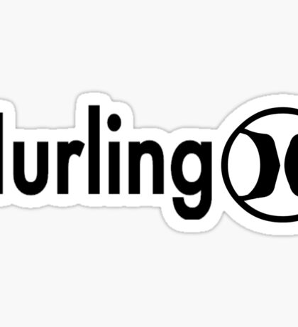 Hurling Sticker