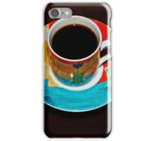 Coffee Is Served iPhone Case/Skin