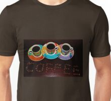 Coffee Is Served Unisex T-Shirt