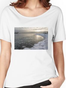 Mini Ice Floes on the Lake Women's Relaxed Fit T-Shirt