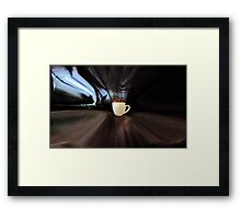Coffee  To Go Framed Print