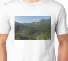 Green, Green and Green - the Water, the Mountains, the Trees Unisex T-Shirt