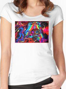 Doctor Steven Ditko is Strange Women's Fitted Scoop T-Shirt