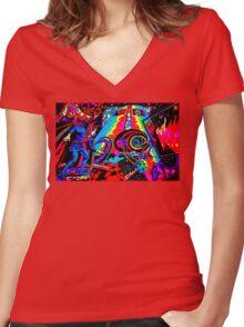 Doctor Steven Ditko is Strange Women's Fitted V-Neck T-Shirt