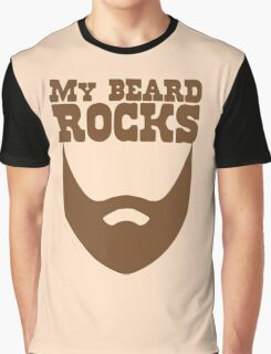 My beard rocks Graphic T-Shirt