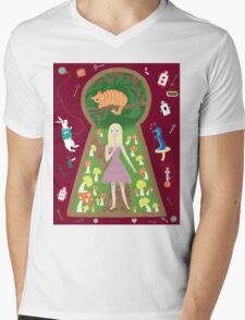 Alice (Fairy Tale Fashion Series #4) Mens V-Neck T-Shirt