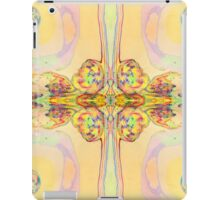Vibrant Butterfly Textile Print Pattern iPad Case/Skin